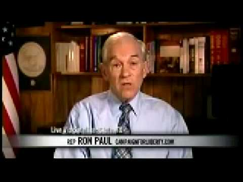 Ron Paul 2012  Ron Paul drops TRUTH BOMB on Bill Maher 2 20 09