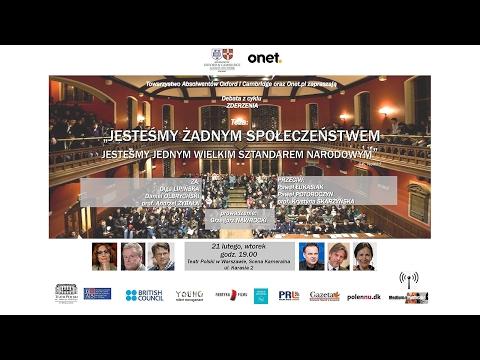 Jesteśmy żadnym społeczeństwem - Debata Oksfordzka w Teatrze Polskim
