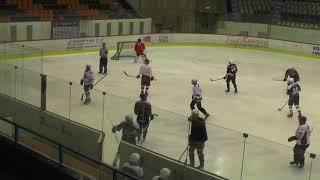 Хоккей ЛНХЛ Ударник-Ястребы 26.12.2017 г. 1 пер. Пермь