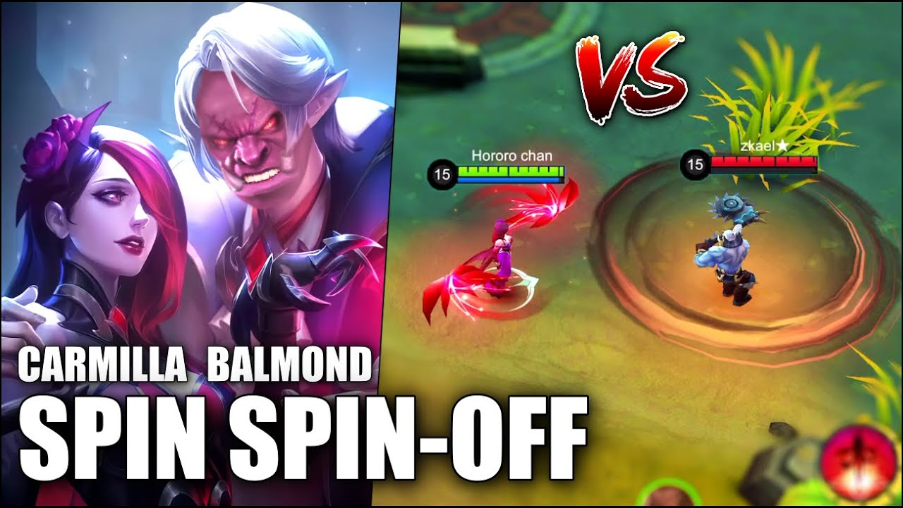 CARMILLA VS BALMOND?! THE BATTLE OF SPINS