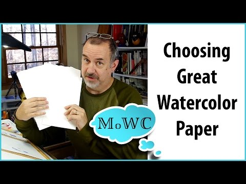 How to Pick Great Watercolor Paper