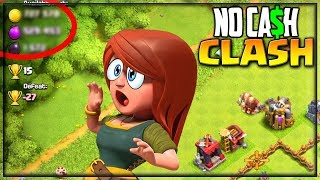 Biggest Raid - EVER? Clash of Clans No Cash Clash - Town Hall 6!