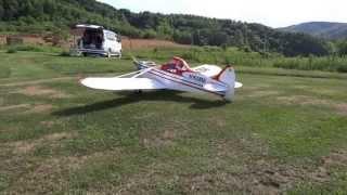 改造を進めていたHONDAの汎用エンジンGX31を飛行機に搭載する...
