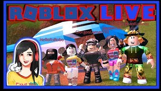 Roblox Live Stream Game Requests - GameDay Friday 70 - PM