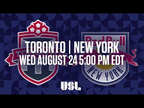 WATCH LIVE: Toronto FC II vs New York Red Bulls II 8-24-16