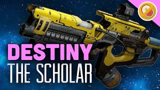 DESTINY The Scholar (Adept) Fully Upgraded Legendary Review (Trials of Osiris)