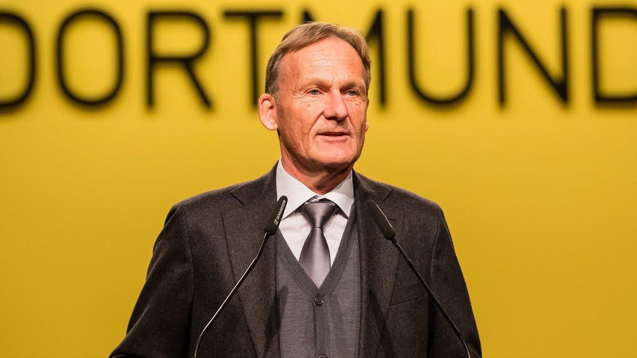 Die Komplette Rede Von Hans Joachim Watzke Auf Der Bvb