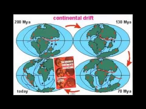 continental drift evidence youtube