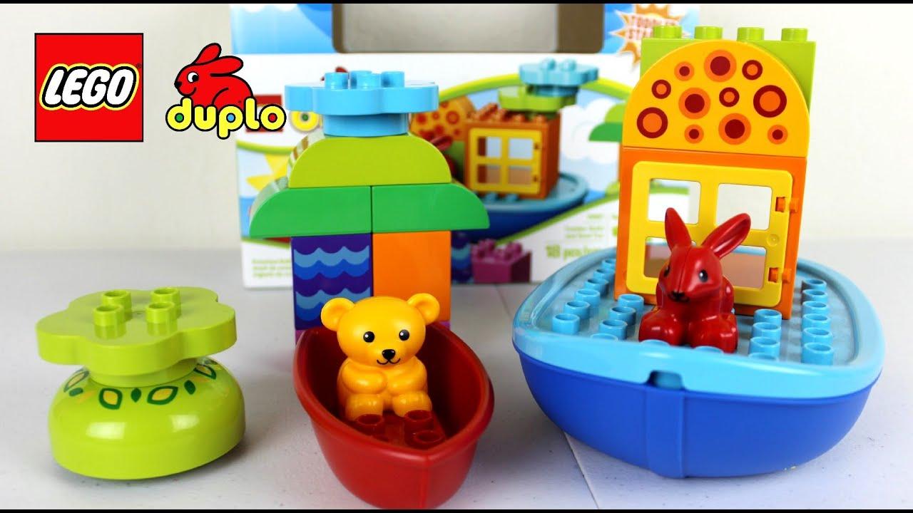 Lego Duplo Toddler Build and Boat Fun  Lego Duplo Toys - YouTube