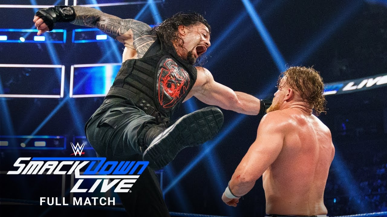 Download FULL MATCH - Roman Reigns vs. Murphy: SmackDown LIVE, August 13, 2019