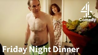 We Were Just Making Love  Friday Night Dinner  Channel 4 Comedy