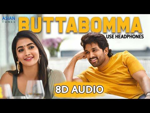 Buttabomma 8d Audio Song Alavaikunthapurramuloo Allu Arjun Trivikram Thaman S Aa19 Youtube