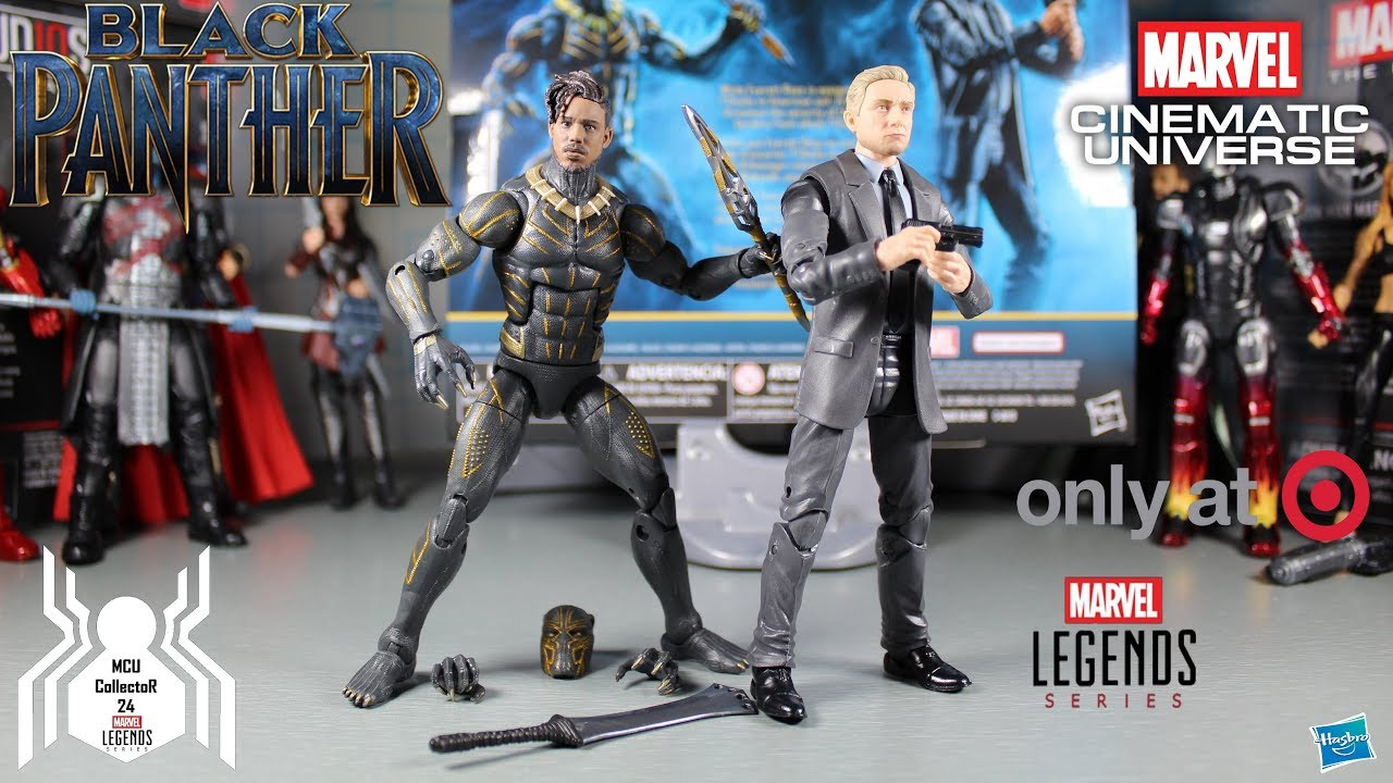 Hasbro Marvel Legends Black Panther Erik Killmonger Complete Target 2 pack