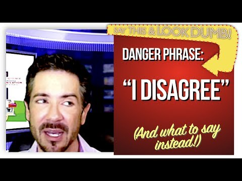 "Communication Skills Training: ""I'M SORRY!!"": Top 10 Power Phrases and Danger Phrases #6 