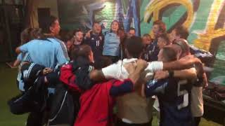 La emotiva arenga de los chicos de la Selección Argentina de Fútbol de Síndrome de Down