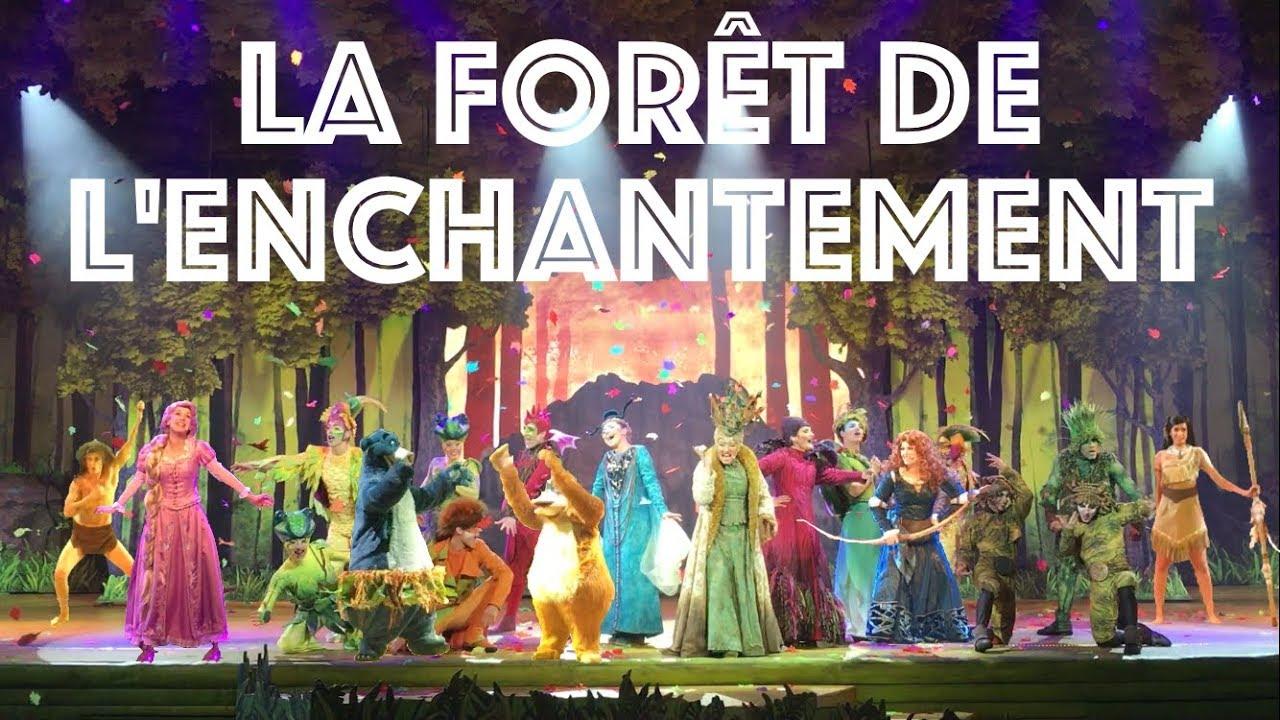 La Forêt de l'Enchantement 2017 - The Forest of Enchantment - Disneyland Paris
