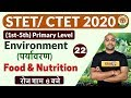 - STET/ CTET 2020   1st-5th Primary Level Environment By Pawan Sir   Class 22   Food