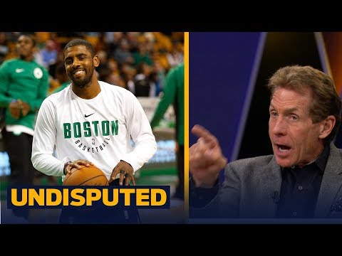 Kyrie Irving called Boston a 'real sports city' - Skip Bayless and Shannon Sharpe react   UNDISPUTED