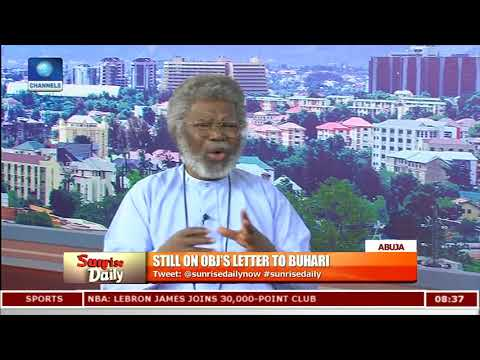 Obasanjo Playing Good Politics,A Wake-up Call To Buhari-- Unongo Pt.2 |Sunrise Daily|