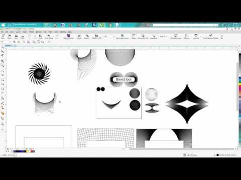 Corel Draw Tips & Tricks Blend Tool cool stuff