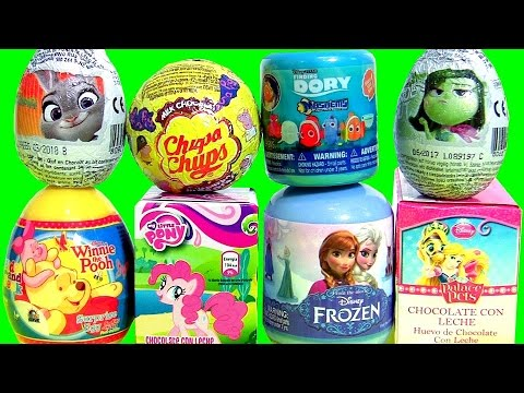 Toys Surprise Chupa Chups Disney Palace Pets MASHEMS FROZEN POOH My Little Pony Zootopia MLP Huevos