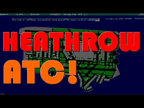 VATSIM ATC | Controlling Heathrow (EGLL) tower/AIR south! Pt.1