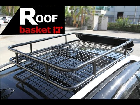 Rooftop Basket Cargo Carrier Installation Guide By Lt