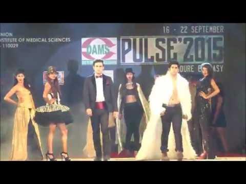 Fashion show l AIIMS PULSE 2015 l Dyal singh college
