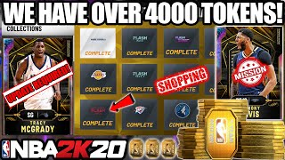 I COMPLETED EVERY SINGLE NEW COLLECTION FOR 4000 TOKENS AND MORE GALAXY OPALS IN NBA 2K20 MYTEAM