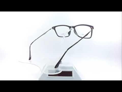 9e6ee9ca19 Montura Óptica Emporio Armani 53-19mm Black® Iron Opt0059 - YouTube