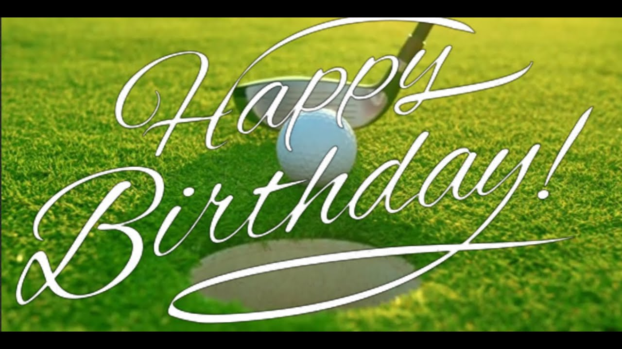 Birthday Ecard Golf Pictures Free Greeting Cards Online Video Ecards Happy Birthday Golf Fun Youtube