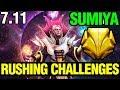 Rushing Challenges - Sumiya Invoker 7.11 Dota 2 Plus - Dota 2