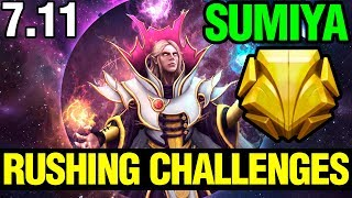 Rushing Challenges - Sumiya Invoker 7.11 Dota 2 Plus - Dota 2