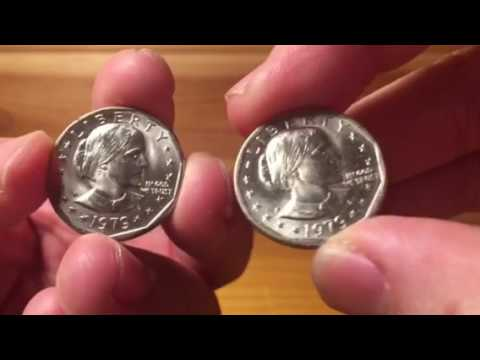 BACK TO BASICS - What is a 1979 Wide Rim Variety Susan B. Anthony Dollar?  What's it Worth?