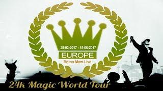 Baixar Bruno Mars 24k Magic World Tour european leg tribute