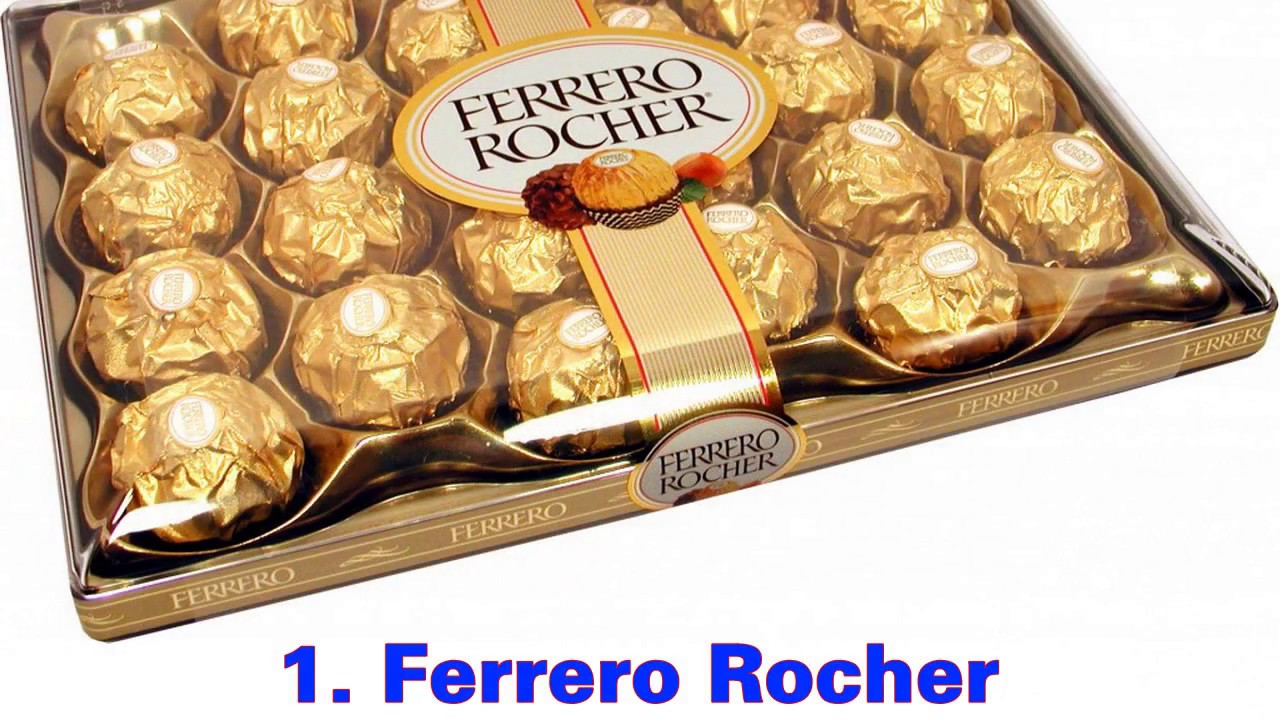 Top 10 Chocolate Brand Names In The World 2016 2017 For Your