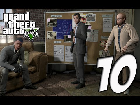 Grand Theft Auto 5 Gameplay Walkthrough | Part 10 - The Jewel Store Job