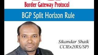 BGP Split Horizon Rule - Video By Sikandar Shaik || Dual CCIE (RS/SP) # 35012