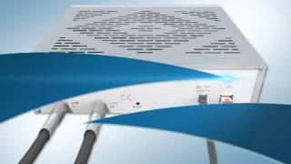 Broadband High Speed Satellite modem - installation movie