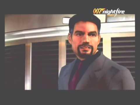 Pierce Brosnan as James Bond 007 Night Fire Gamecube game