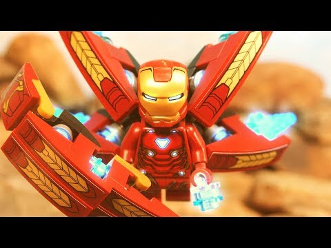 Lego Avengers Infinity War Iron Man VS Thanos Lego Stop Motion