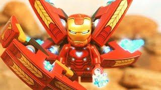 Lego Avengers Infinity War Iron Man VS Thanos Lego Stop Motion