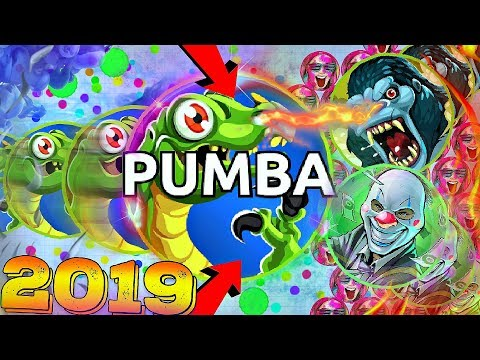 PUMBA IS BACK In Agar.io 2019/ INSANE TRICKS & TROLLINGS!