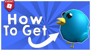 """How to get the """"Twitter Bird"""" (Roblox Promo Code)"""