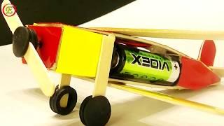 как сделать самолетик из дерева видео который летает