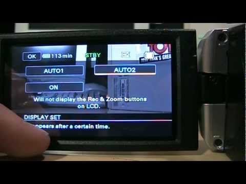 Sony DCR-SX45/65/85 Review Part 2 & Sample Video Footage