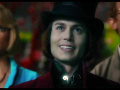 Willy Wonka (Johnny Depp) - Candy Man ♥ - YouTube Willy Wonka Johnny Depp