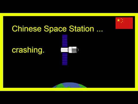 Chinese space station falling to earth - all you need to know @ breakthrough science