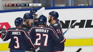 NHL 19 - Arizona Coyotes Vs Columbus Blue Jackets Gameplay - NHL Season Match Oct 23, 2018