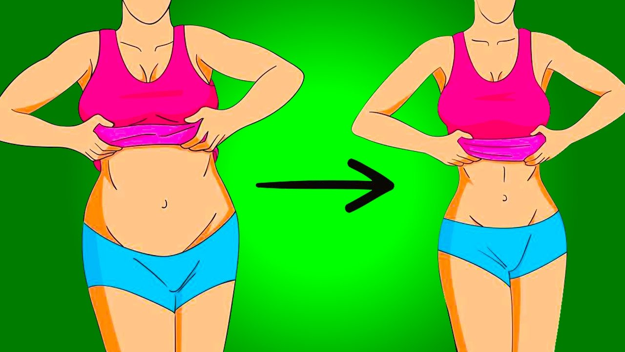How to reduce lower waist fat
